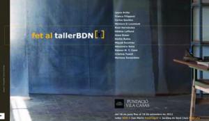 'Fet al tallerBDN'. Museu d'Escultura Can Mario. Palafrugell